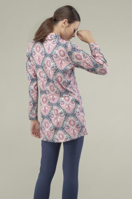 Pijama camisero cashemire