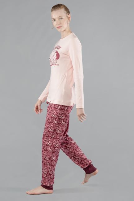 Pijama Mafalda con pantalón estampado