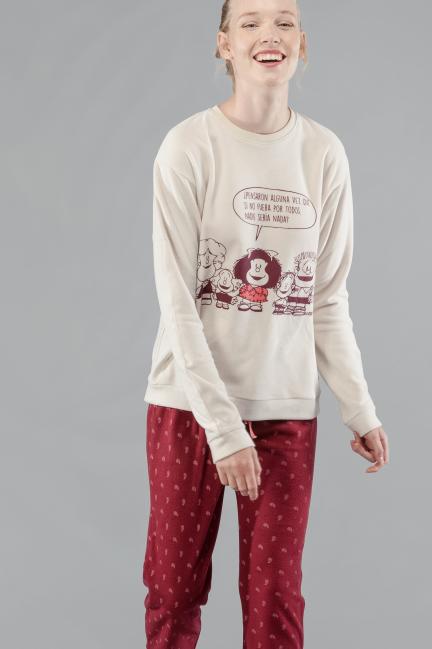 Pijama polar Mafalda