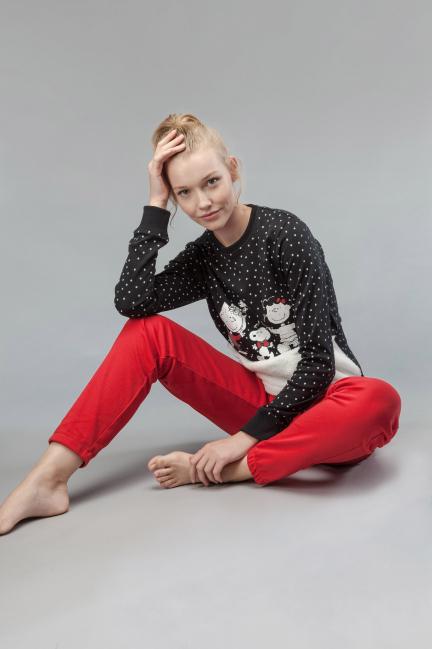 Pijama polar Snoopy topos