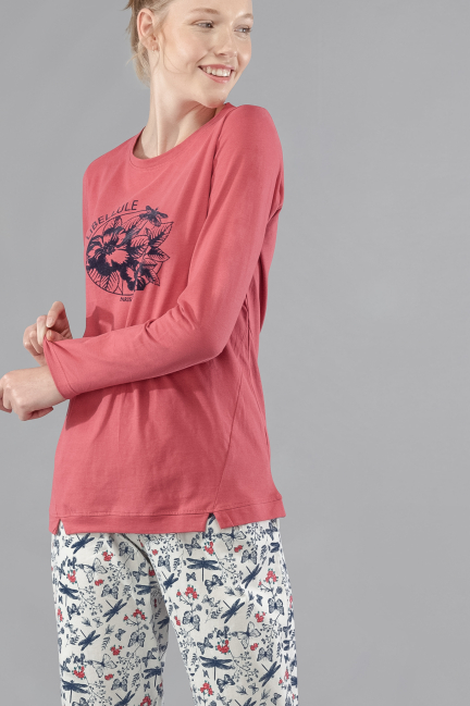 Pijama 'Libellule' estampado