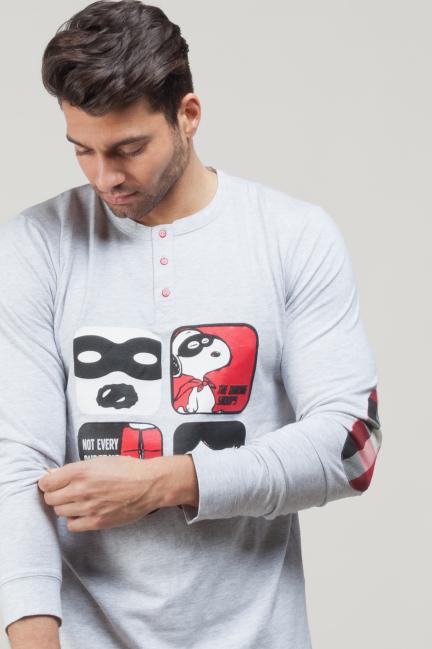 Pijama algodón Snoopy
