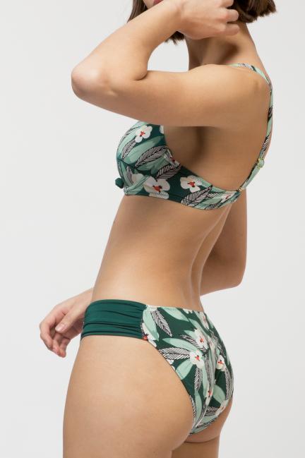 Braguita bikini estampada