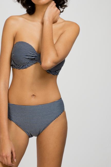 Braguita bikini rayas texturizadas