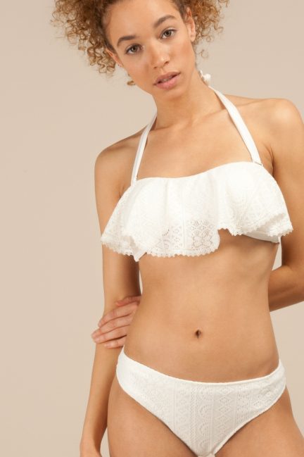 Braguita bikini en tejido estructura