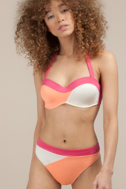 Braguita bikini tricolor