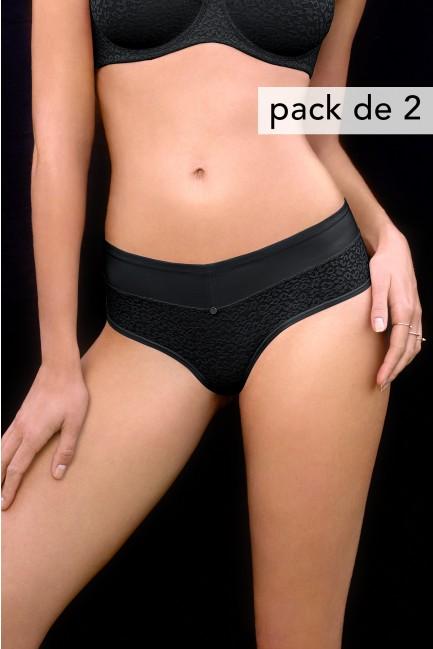 Pack 2 braguitas efecto reductor