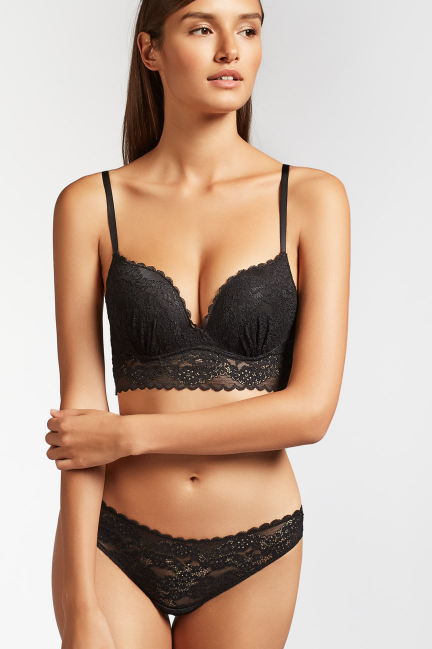 Bralette push up +1 encaje