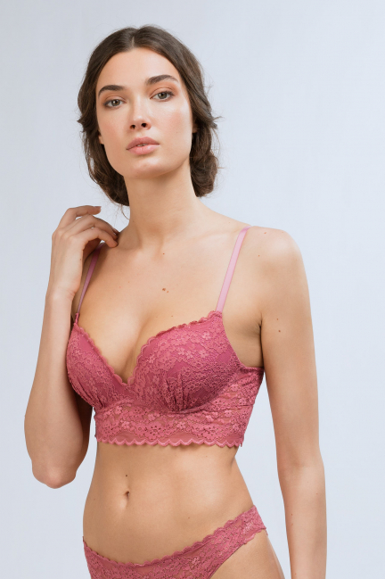 Bralette push up+1 encaje
