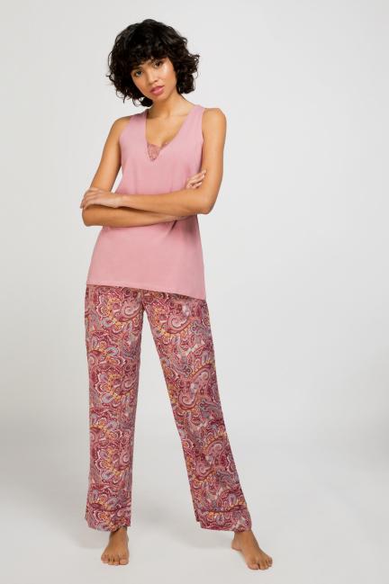 Pijama largo cashemire