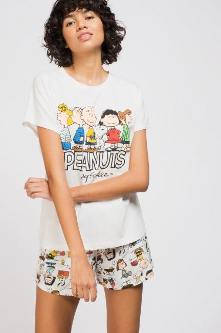 Pijama corto Snoopy