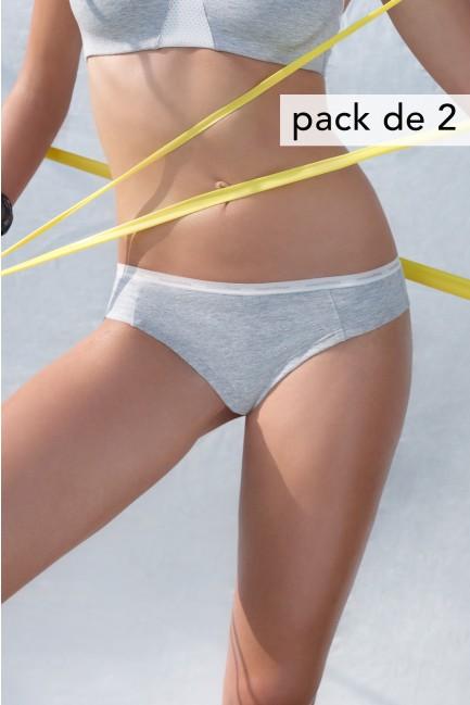 Pack 2 braguitas brasileñas deportivas
