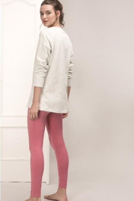 Pink Panther pyjama set with leggings