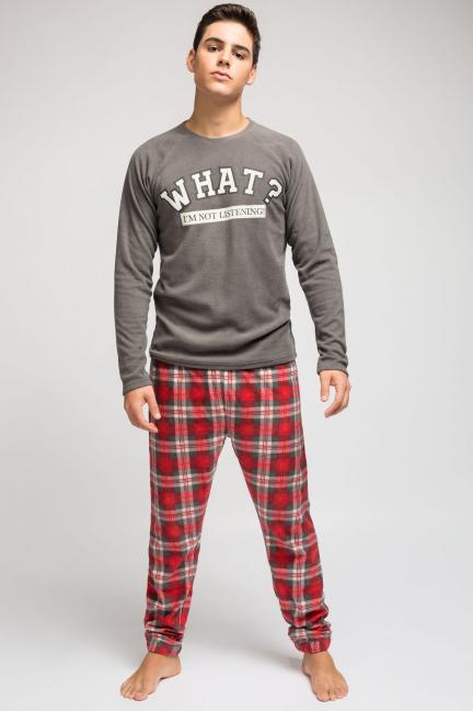 Pijama hombre print