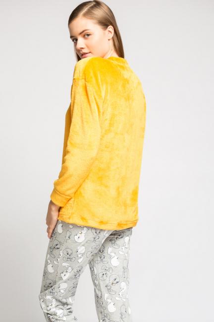 Pijama largo peluche Piolín
