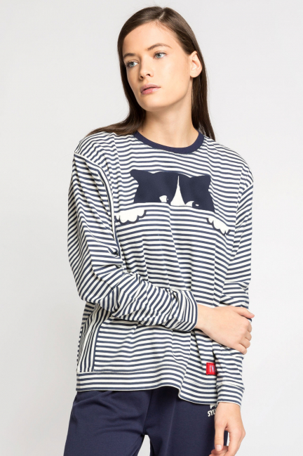 Pijama rayas I'm a cat
