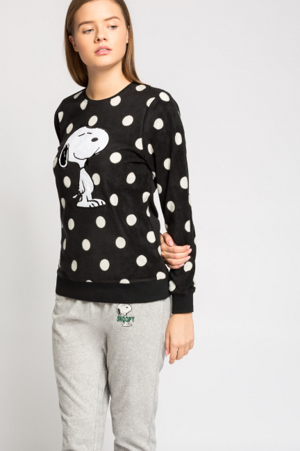 Pijama largo polar Snoopy