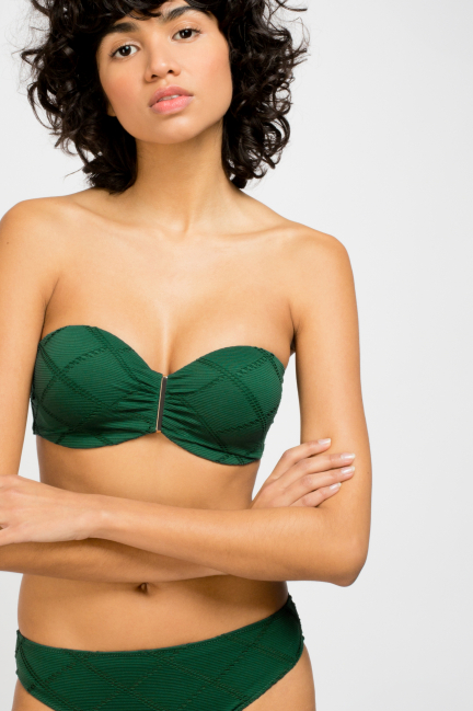 Bikini bandeau desmontable