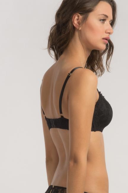 Lace full coverage bra