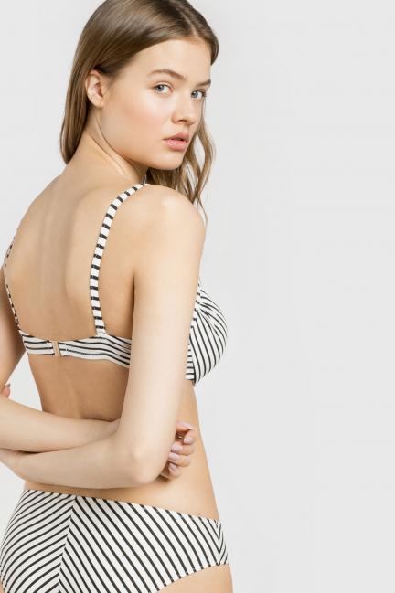 Top bikini multiposición copas B y C