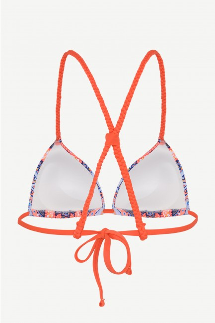 Top bikini triangular push up +1